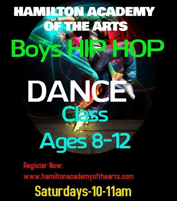 Boys Hip Hop Classs